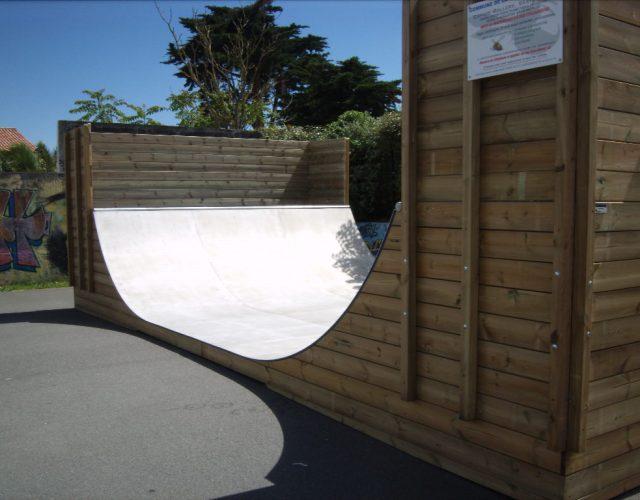 Fabricant skatepark rampe