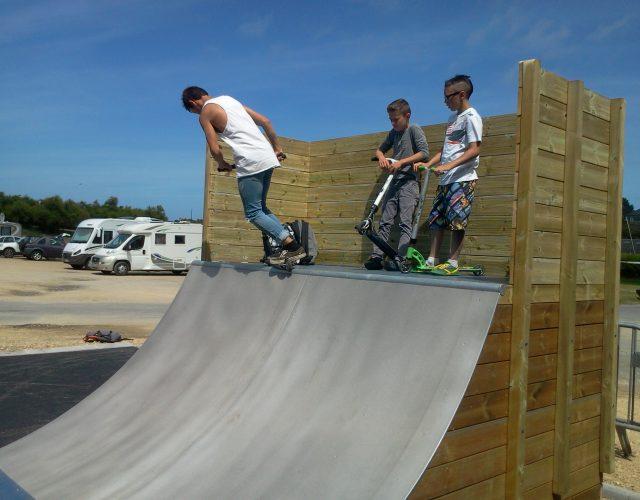 Fabricant skatepark quarter