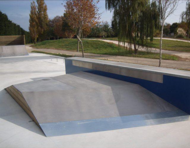 Fabricant skatepark table centrale
