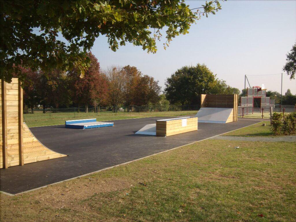 Réalisation Skate Park Teillé 44