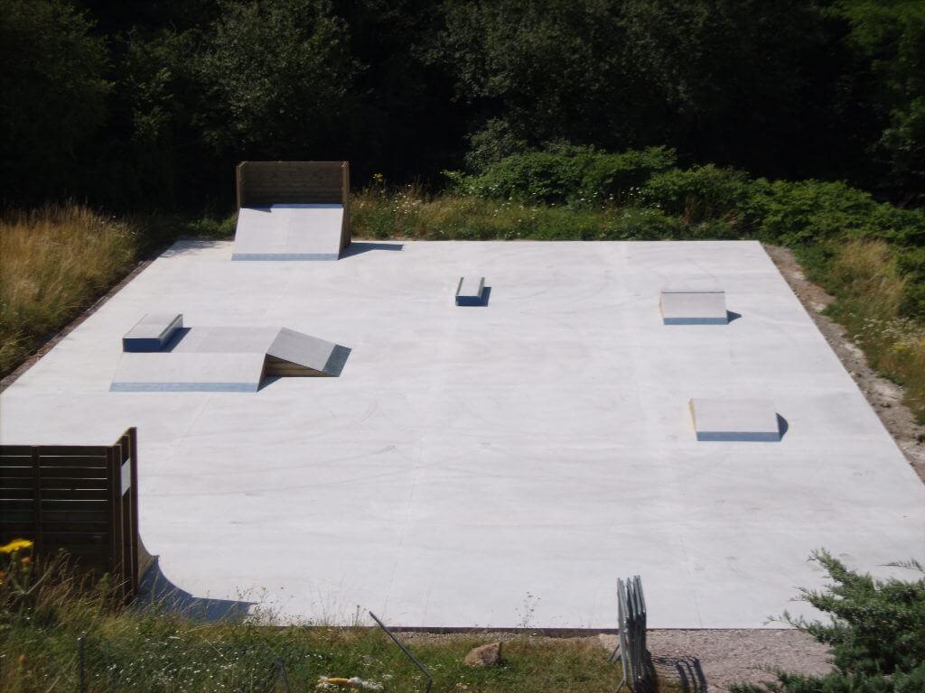 Fabricant skatepark Béton